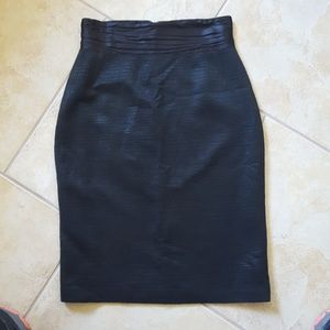 Elie Tahari high waist pencil skirt